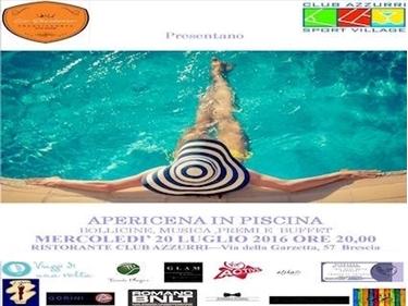Imagen de APERICENA IN PISCINA - Mercoledì 20 LUGLIO ORE  20:00 - POOL PARTY SAIL TIME  - Brescia