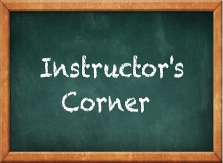 Picture for category INSTRUCTOR CORNER