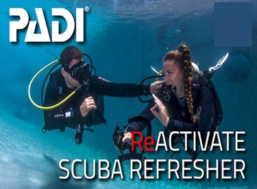 Image de PADI ReActivate-Scuba Refresh